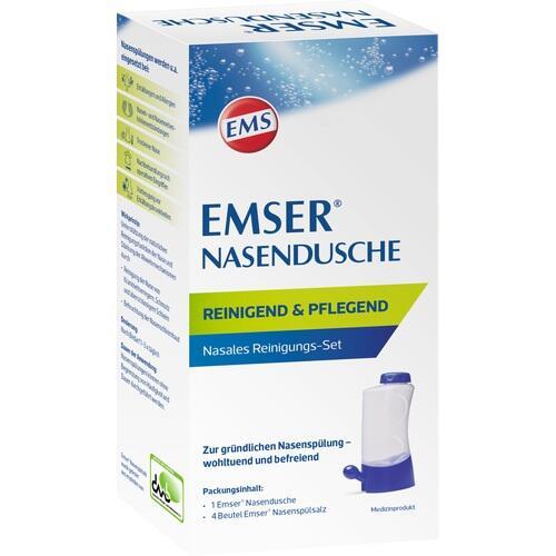 Emser® Nasendusche mit 4 Beuteln Nasenspülsalz