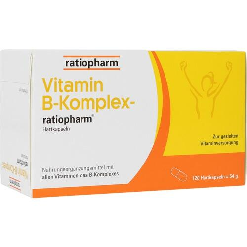 VITAMIN B Komplex-ratiopharm Kapseln