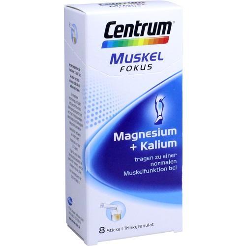CENTRUM Fokus Muskel Magnesium+Kalium Sticks