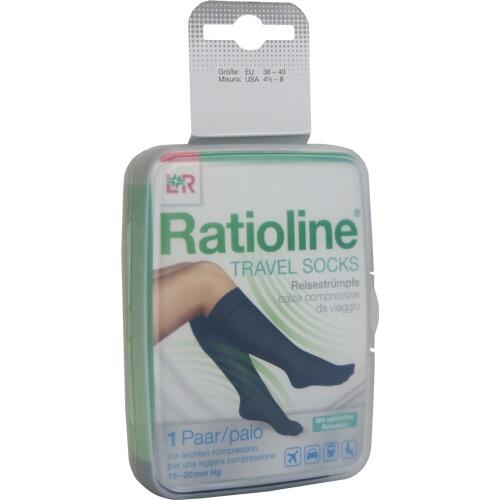 Ratioline Travel Socks Gr. 36-40 Reisestrümpfe