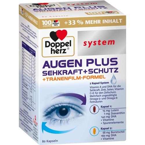 Doppelherz system Augen Plus Sehkraft + Schutz Kapseln