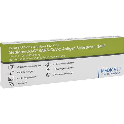 MEDICOVID-Ag SARS-CoV-2 Antigen Selbsttest Nase