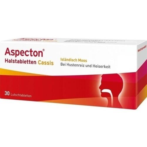 Aspecton Cassis Halstabletten
