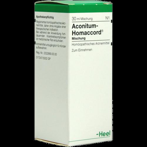 Verpackungsbild(Packshot) von ACONITUM HOMACCORD Tropfen