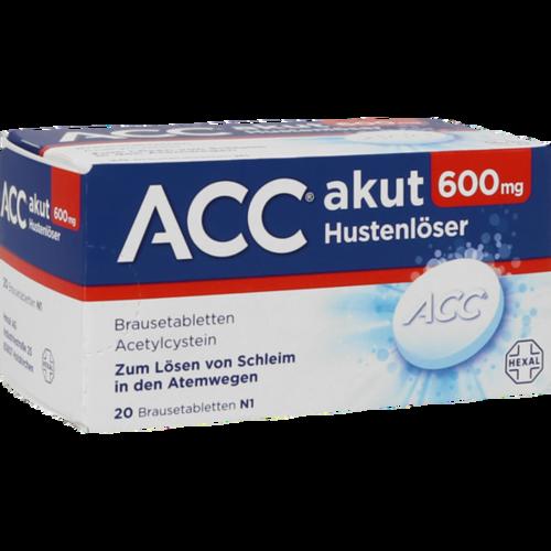 Verpackungsbild(Packshot) von ACC akut 600 Brausetabletten