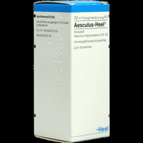 Verpackungsbild(Packshot) von AESCULUS HEEL Tropfen