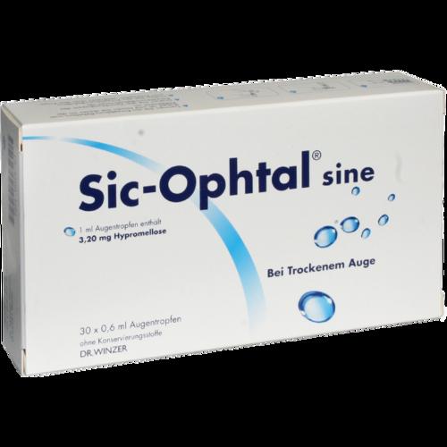 Verpackungsbild(Packshot) von SIC OPHTAL sine Augentr. Augentropfen