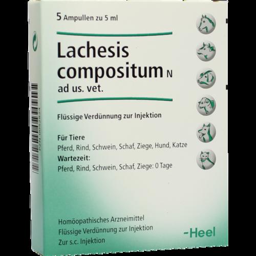 Verpackungsbild(Packshot) von LACHESIS COMPOSITUM N ad us.vet.Ampullen