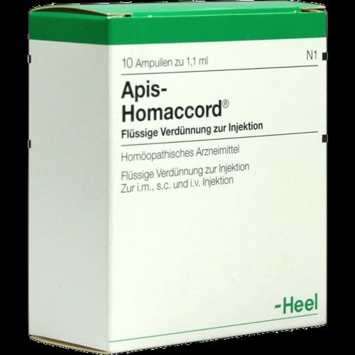 Verpackungsbild(Packshot) von APIS HOMACCORD Ampullen