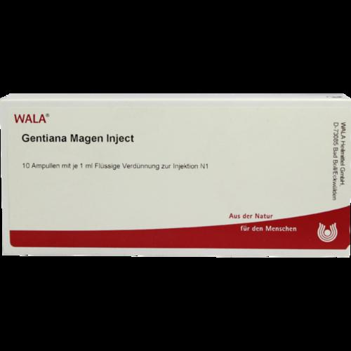 Verpackungsbild(Packshot) von GENTIANA MAGEN Inject Ampullen