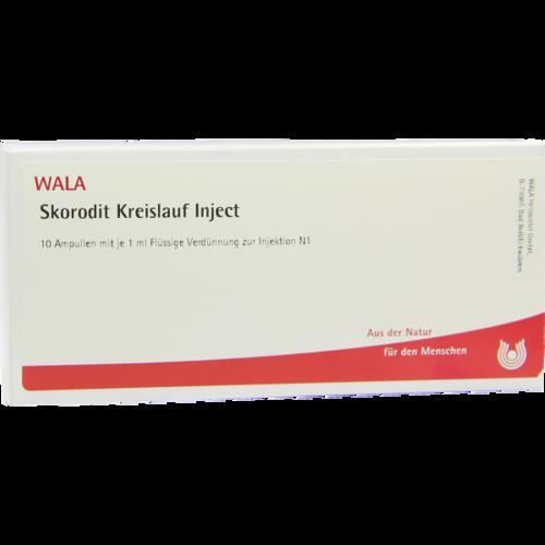 Verpackungsbild(Packshot) von SKORODIT KREISLAUF Inject Ampullen