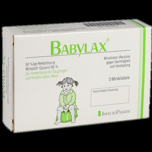 Verpackungsbild(Packshot) von BABYLAX Klistier