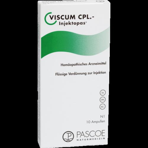 Verpackungsbild(Packshot) von VISCUM CPL.Injektopas Ampullen