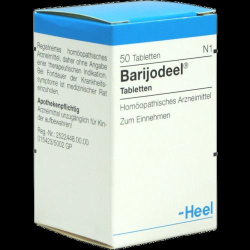 Verpackungsbild(Packshot) von BARIJODEEL Tabletten