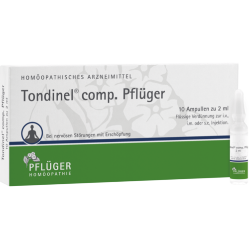 Verpackungsbild(Packshot) von TONDINEL comp.Pflüger Ampullen