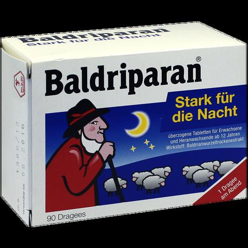 Verpackungsbild(Packshot) von BALDRIPARAN Stark für die Nacht überzogene Tab.