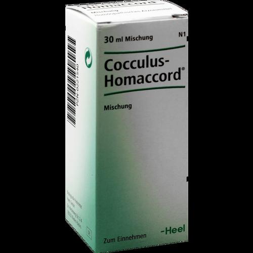 Verpackungsbild(Packshot) von COCCULUS HOMACCORD Tropfen