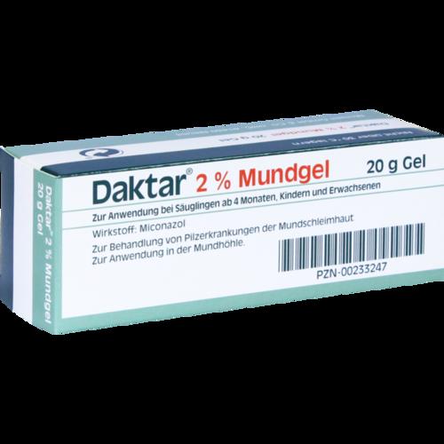 Verpackungsbild(Packshot) von DAKTAR 2% Mundgel