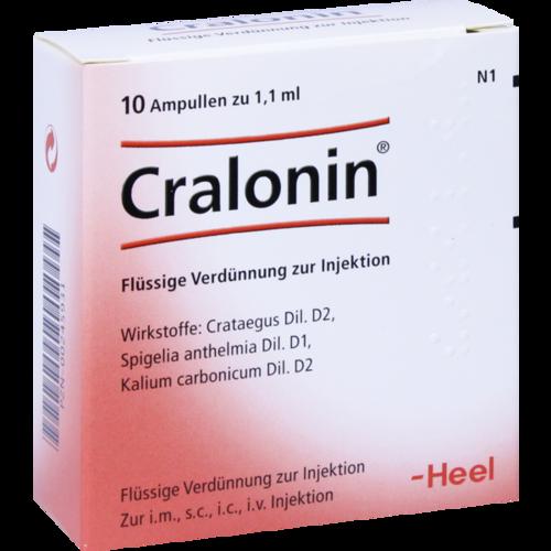 Verpackungsbild(Packshot) von CRALONIN Ampullen