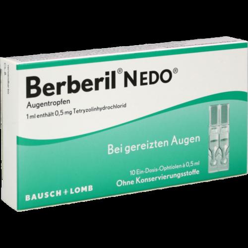 Verpackungsbild(Packshot) von BERBERIL N EDO Augentropfen