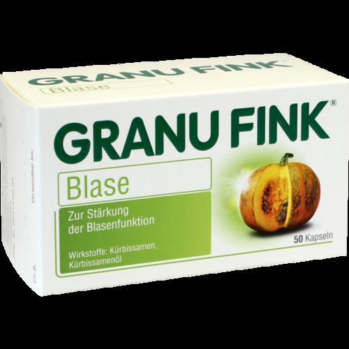 Verpackungsbild(Packshot) von GRANU FINK Blase Hartkapseln