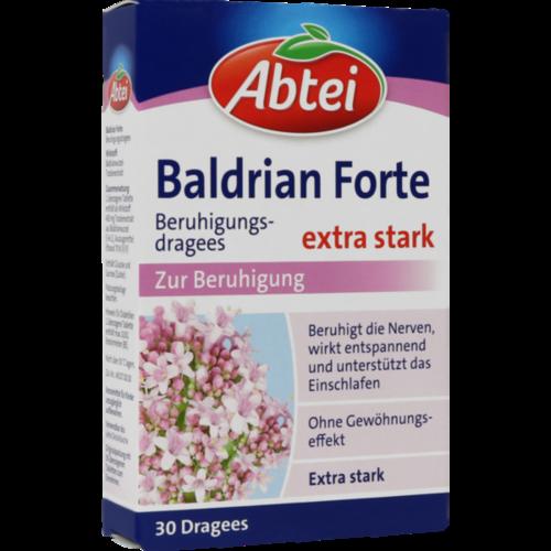Verpackungsbild(Packshot) von ABTEI Baldrian forte überzogene Tabletten