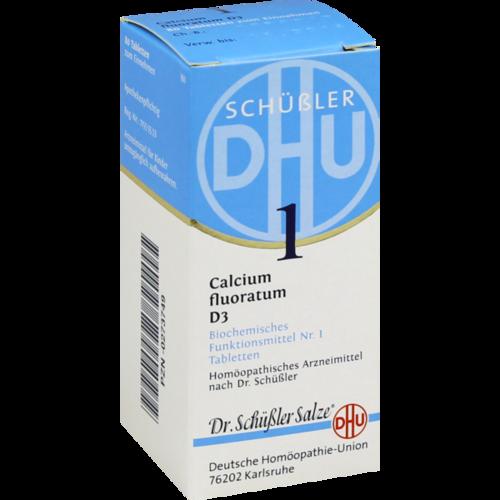 Verpackungsbild(Packshot) von BIOCHEMIE DHU 1 Calcium fluoratum D 3 Tabletten