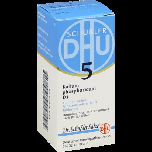 Verpackungsbild(Packshot) von BIOCHEMIE DHU 5 Kalium phosphoricum D 3 Tabletten