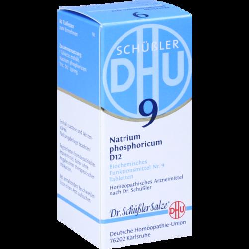 Verpackungsbild(Packshot) von BIOCHEMIE DHU 9 Natrium phosphoricum D 12 Tabl.