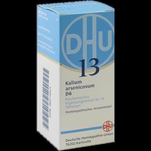 Verpackungsbild(Packshot) von BIOCHEMIE DHU 13 Kalium arsenicosum D 6 Tabletten