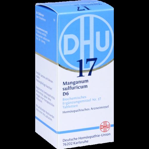 Verpackungsbild(Packshot) von BIOCHEMIE DHU 17 Manganum sulfuricum D 6 Tabletten