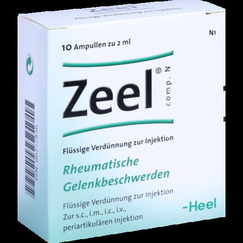 Verpackungsbild(Packshot) von ZEEL comp.N Ampullen
