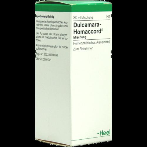 Verpackungsbild(Packshot) von DULCAMARA HOMACCORD Tropfen