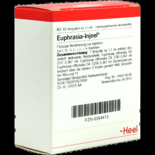 Verpackungsbild(Packshot) von EUPHRASIA INJEEL Ampullen