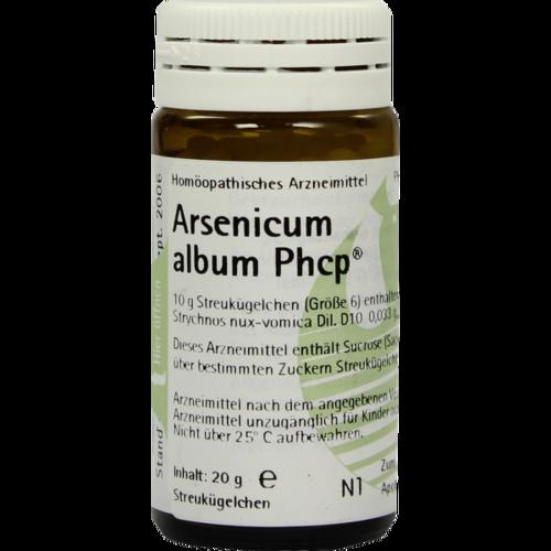 Verpackungsbild(Packshot) von ARSENICUM ALBUM PHCP Globuli