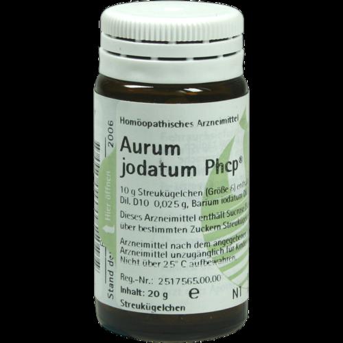 Verpackungsbild(Packshot) von AURUM JODATUM PHCP Globuli