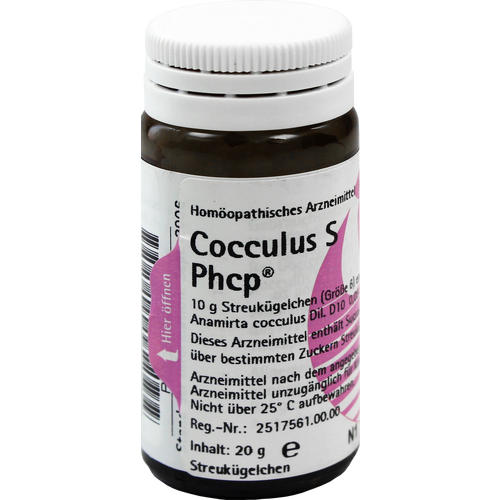 Verpackungsbild(Packshot) von COCCULUS S Phcp Globuli
