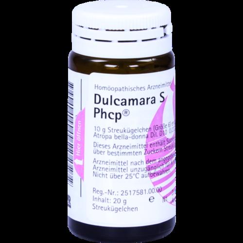 Verpackungsbild(Packshot) von DULCAMARA S Phcp Globuli