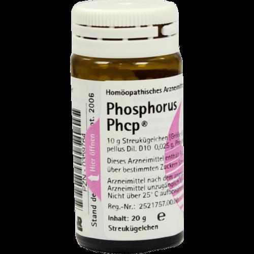 Verpackungsbild(Packshot) von PHOSPHORUS PHCP Globuli
