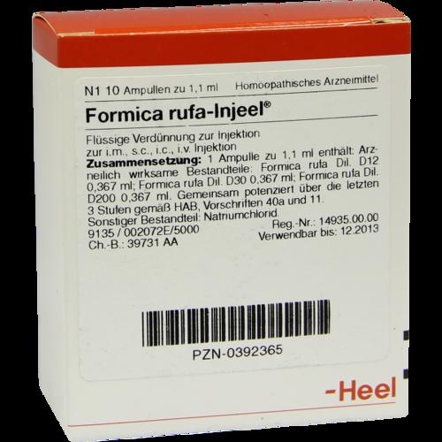 Verpackungsbild(Packshot) von FORMICA RUFA INJEEL Ampullen