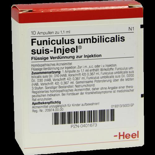 Verpackungsbild(Packshot) von FUNICULUS UMBILICALIS suis Injeel Ampullen