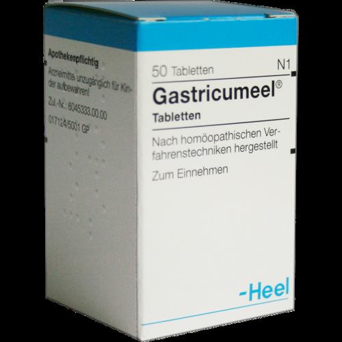Verpackungsbild(Packshot) von GASTRICUMEEL Tabletten