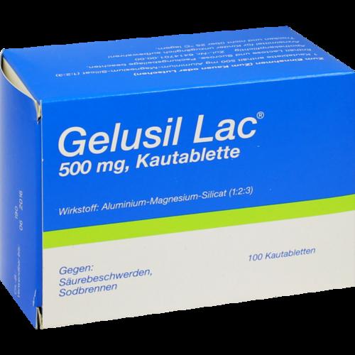 Verpackungsbild(Packshot) von GELUSIL LAC Kautabletten