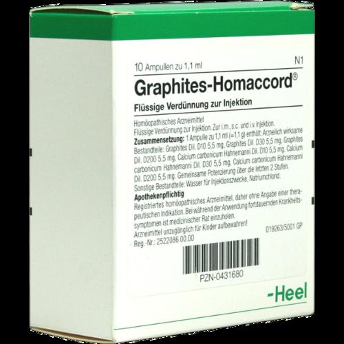 Verpackungsbild(Packshot) von GRAPHITES HOMACCORD Ampullen