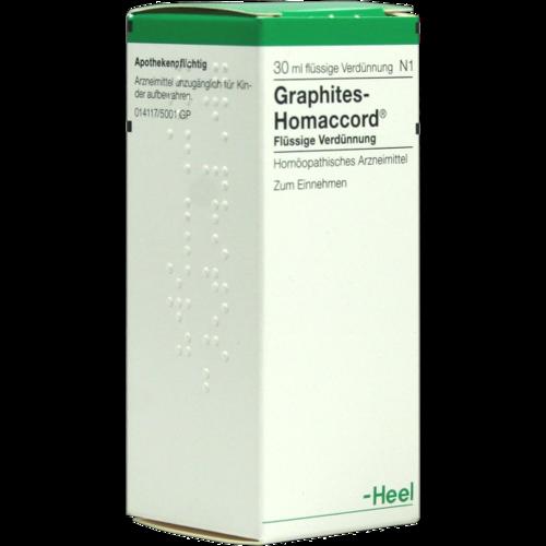 Verpackungsbild(Packshot) von GRAPHITES HOMACCORD Tropfen