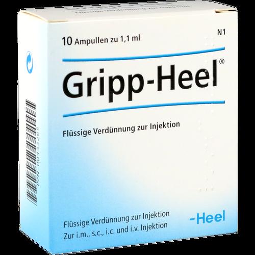 Verpackungsbild(Packshot) von GRIPP-HEEL Ampullen
