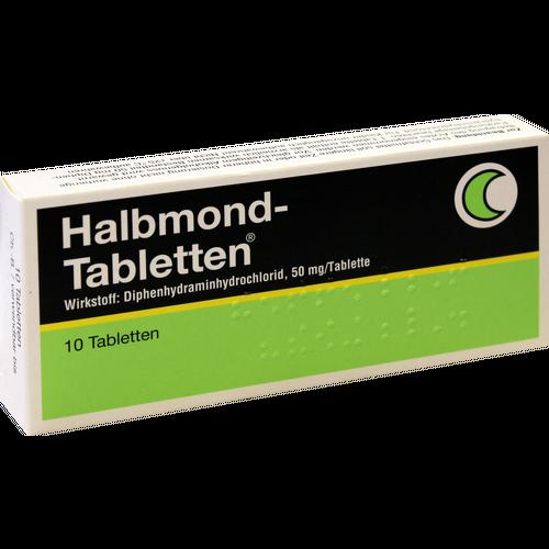Verpackungsbild(Packshot) von HALBMOND Tabletten