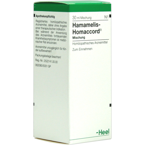 Verpackungsbild(Packshot) von HAMAMELIS HOMACCORD Tropfen