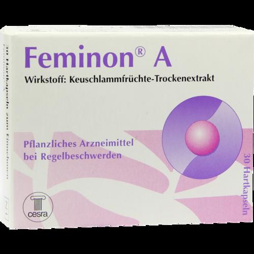 Verpackungsbild(Packshot) von FEMINON A Hartkapseln
