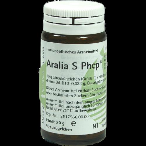 Verpackungsbild(Packshot) von ARALIA S Phcp Globuli